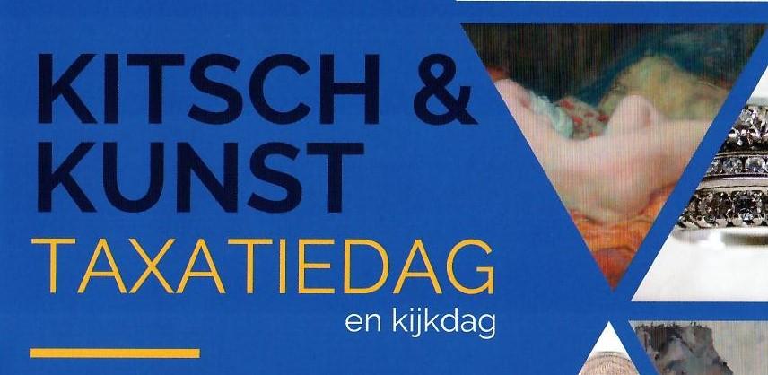 Kitsch & Kunst benefiet taxatiedag 5 november